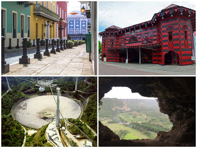 Visit Old San Juan, City of Ponce, Arecibo Observatory, Camuy and Ventana Cave