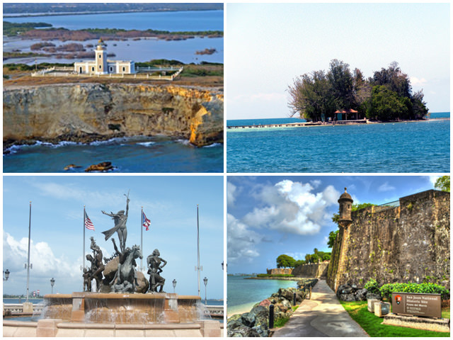 Enjoy a wonderful Visit to Puerto Rico West Coast by ship, snorkeling at Pineapple Island and Visit Old San Juan