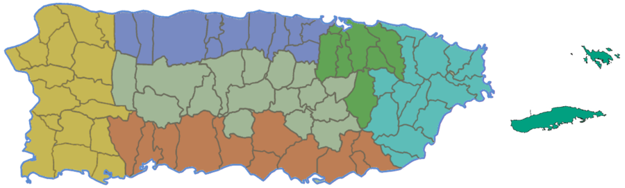 Tourist Attractions Areas of Puerto Rico