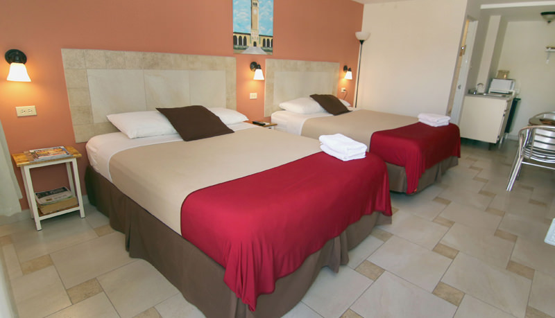 Dream's Hotel Puerto Rico, small budget hotel in San Juan, Puerto Rico, with renovated rooms.