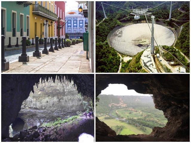 Visit Old San Juan, The Arecibo Observatory and the Caves of Camuy and Ventana